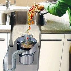 Установка измельчителя пищевых отходов в Артёме, подключение измельчителя пищевых отходов в г.Артём